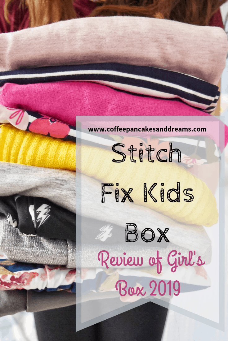 Stitch Fix Girls Box Review #stitchfixkids #tweens #kidsstyle #spring #winter