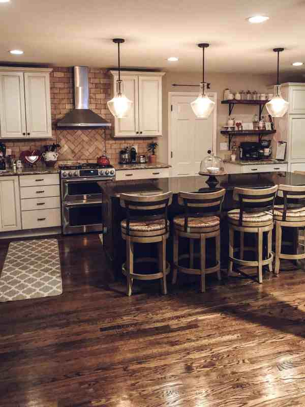 day in the mom life farmhouse kitchen