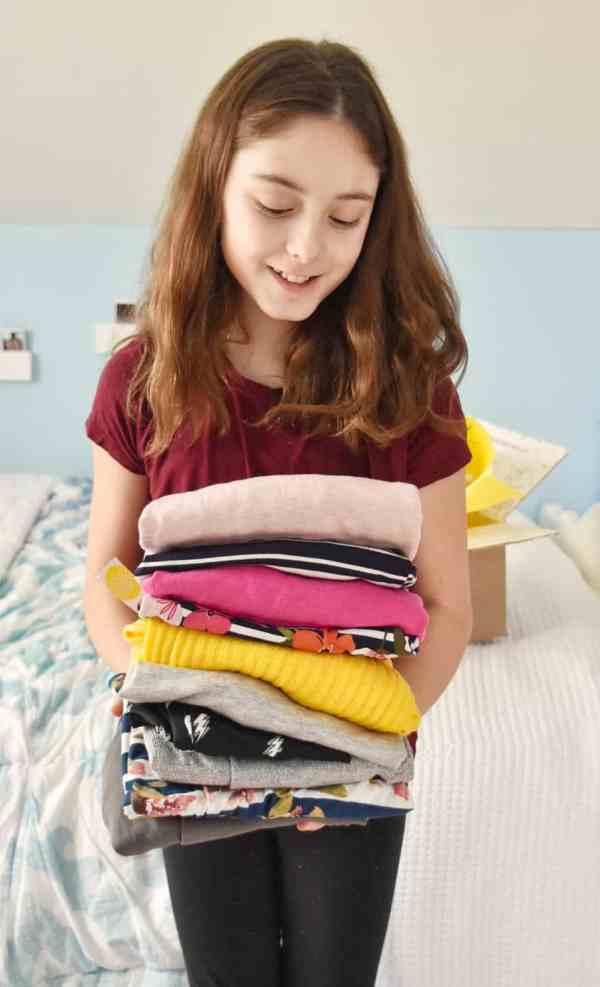Stitch Fix Kids Girl Box #tween #fashion #subcriptionbox