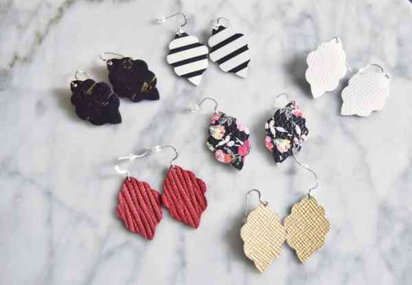 Inexpensive spring accessories for women #earrings #jewelry #leather