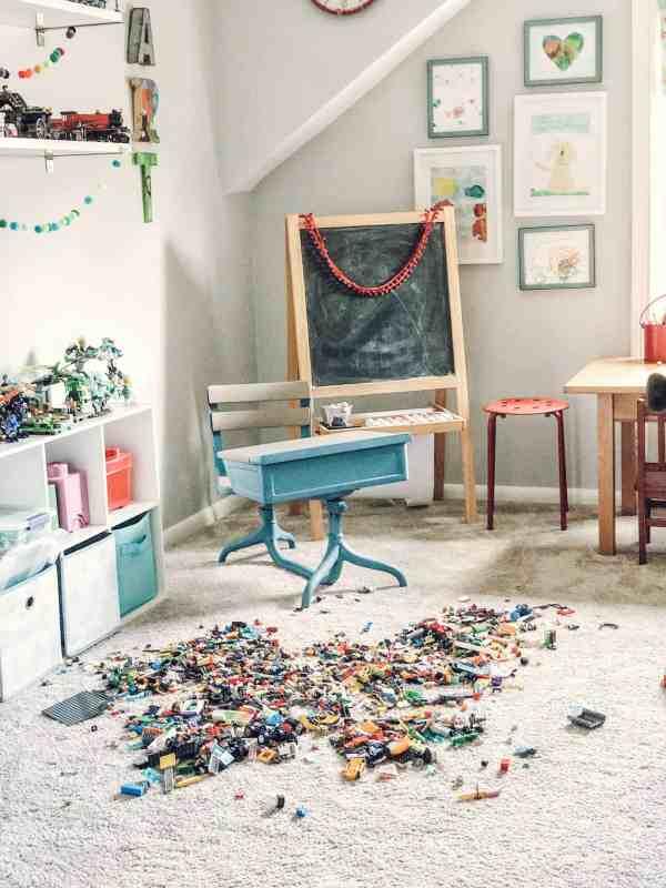 Lego Storage Idea #organization #playroom #legos