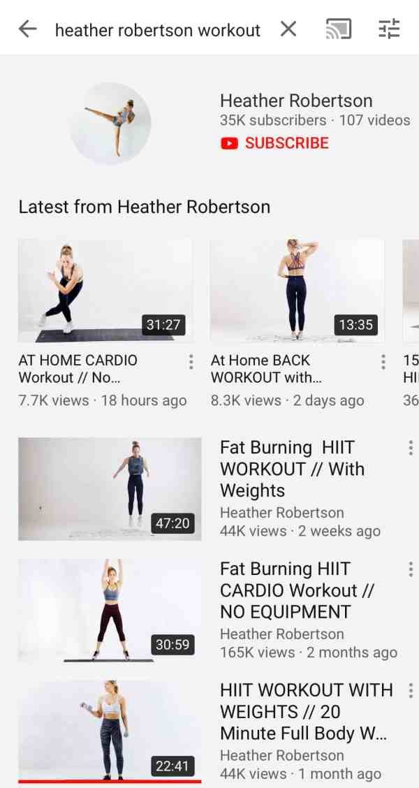 Favorite youtube workouts #moms #over40 #hiitworkouts