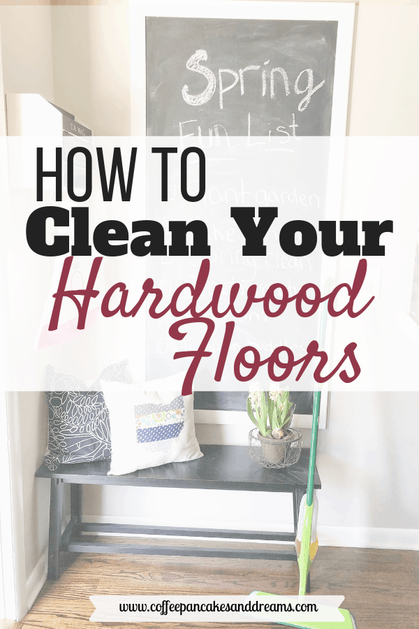 how to clean hardwood floor #sponsored #woodfloors #springcleaning #floorcare