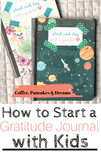 How to make a gratitude journal with kids #freeprintables #families #prompts #ideas
