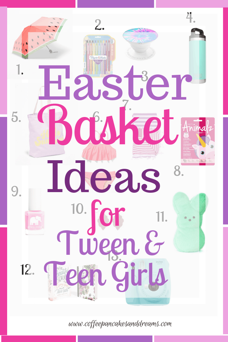 Easter Basket Ideas for Tweens and Tees #giftideas #under20 #inexpensive #cute
