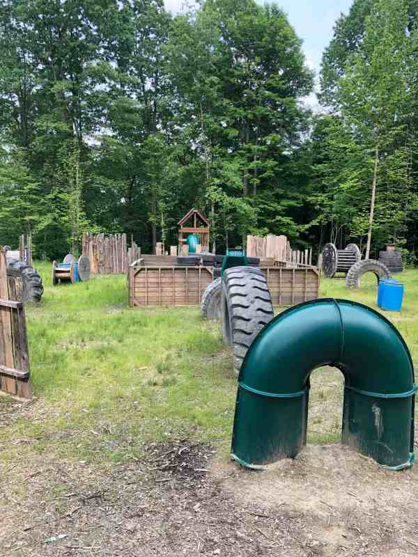 laser tag course at jellystone park yogi bear