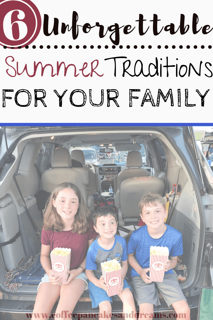 Easy and inexpensive summer traditions #family #kids #staycation #bucketlist