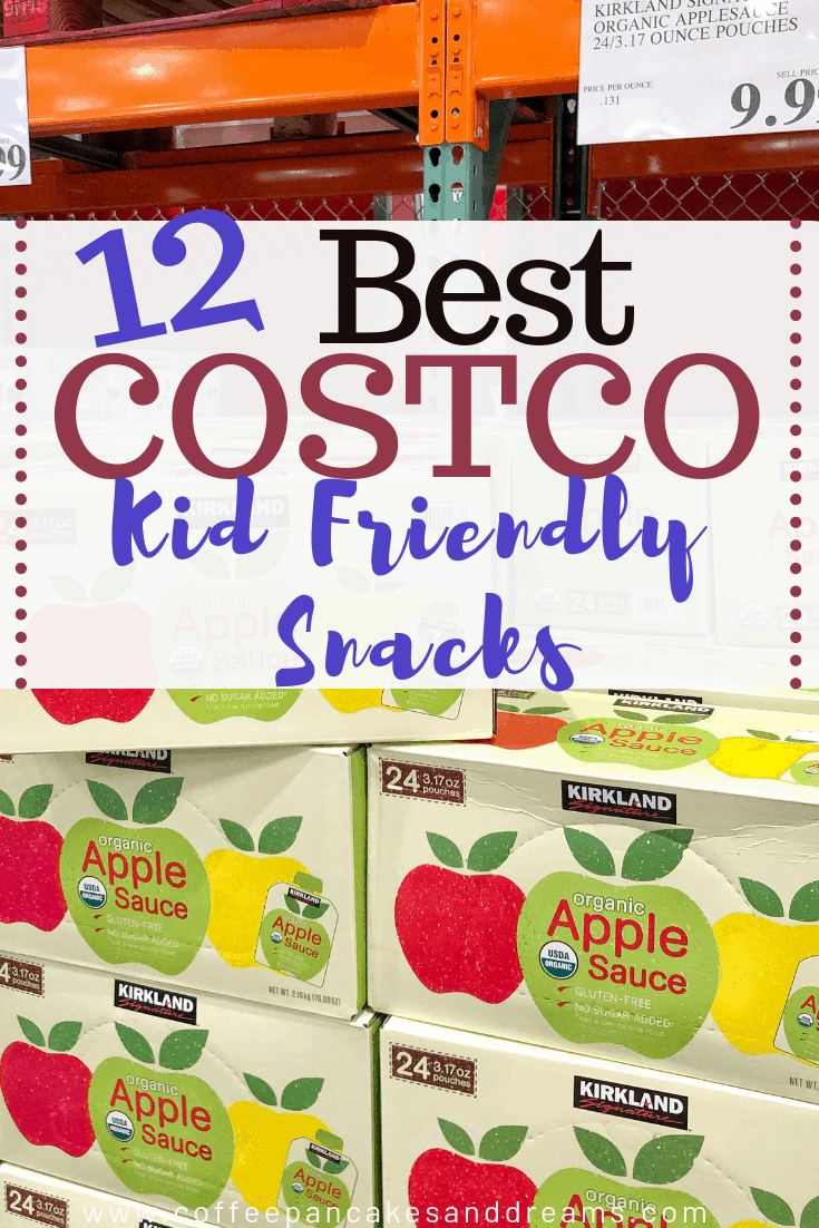 costco Kid friendly snack list #schoollunch #healthy #peanutfreeoptions