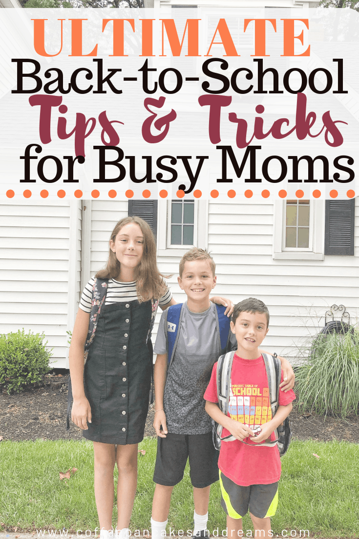 Ultimate guide to back-to-school #momhacks #tips #firstdayofschool
