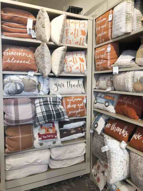 fall pillows at kirklands #falldecorating #plaid