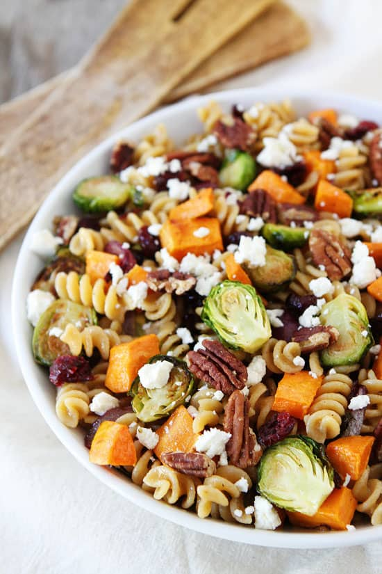 Best Fall salad recipes this season #pasta #sweetpotatoes #vegetarian