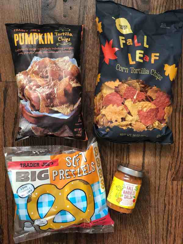 Fall Favorites at Trader Joes