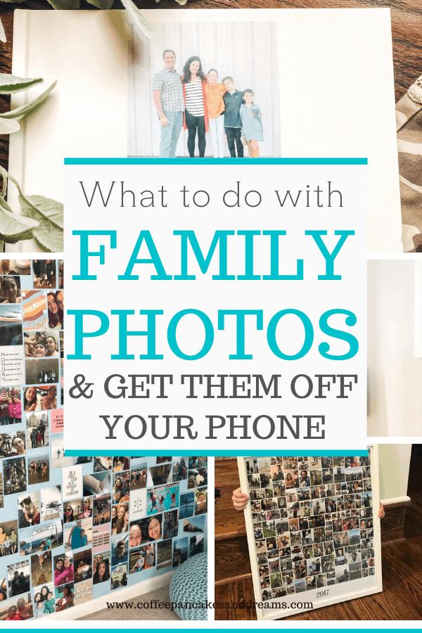 Family photo organization ideas #collage #gallerywall #familyalblum