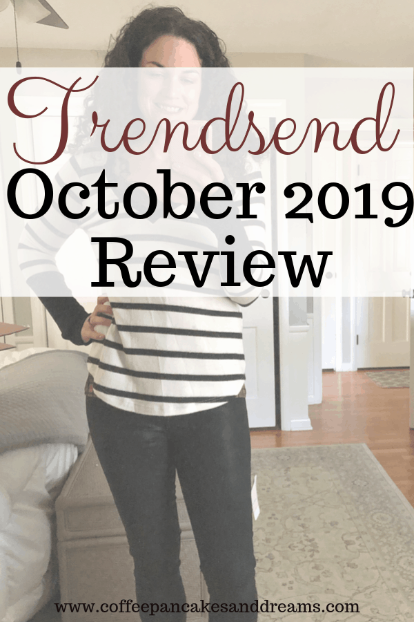 Trendsend Evereve Fall 2019 #stitchfix #outfits #subscriptionbox