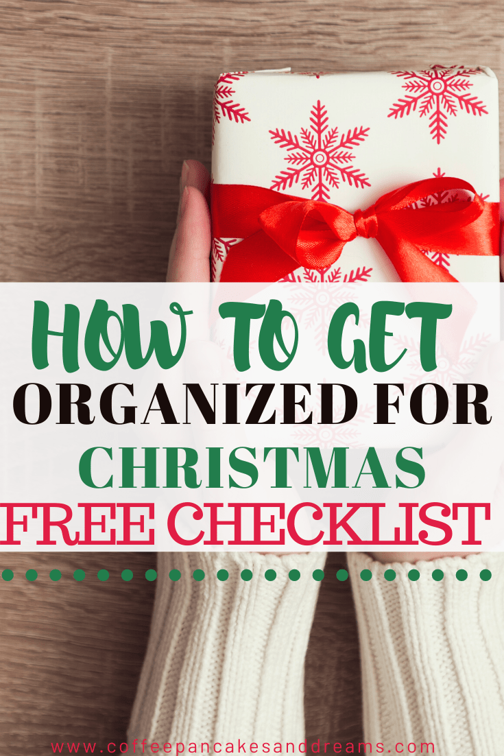Christmas organization Checklist