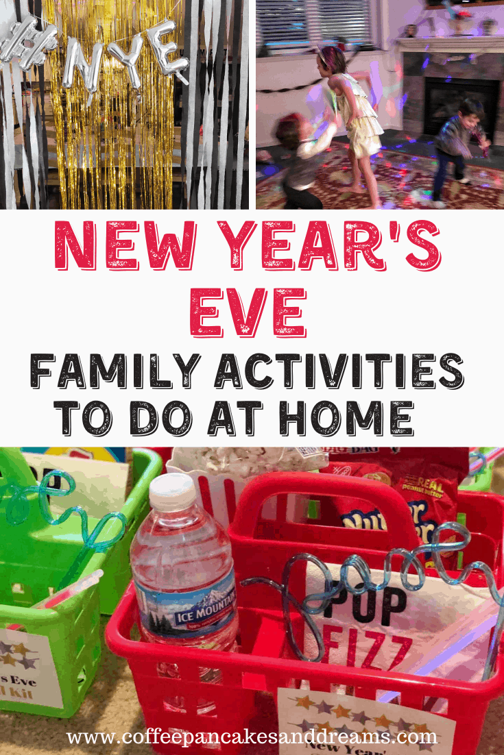 Family Friendly New Year's Eve Ideas to do at Home #NYE #countdown #kids #partyideas