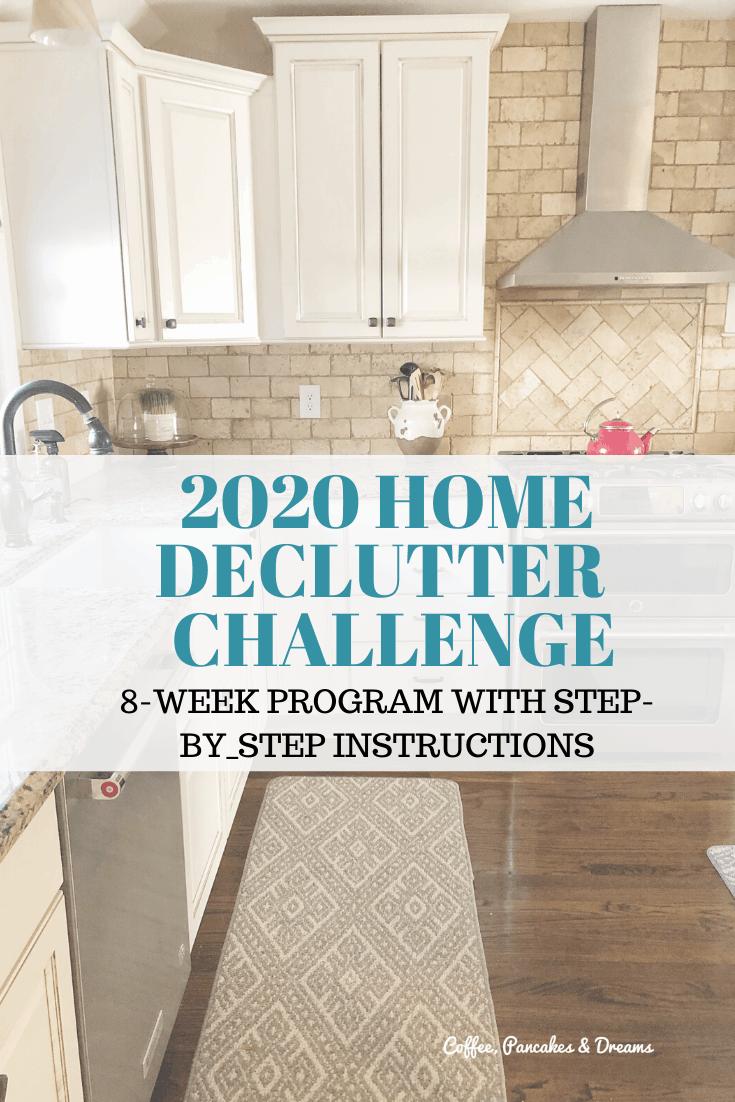 Clear the Clutter Kitchen Organization #declutter #organizationtips #checklist