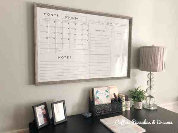 home office organization tips #delutter #smalloffice #deskorganization