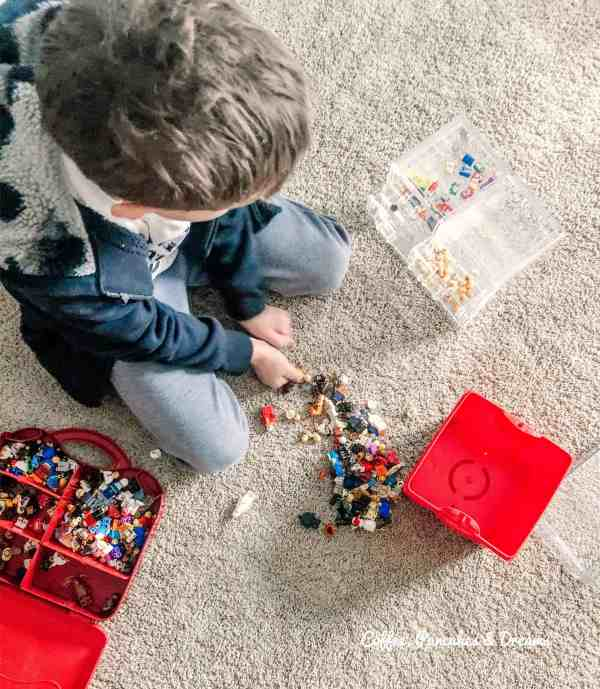 how to organize legos #storage #diy #system
