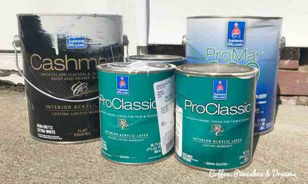 what to do with old cans of paint