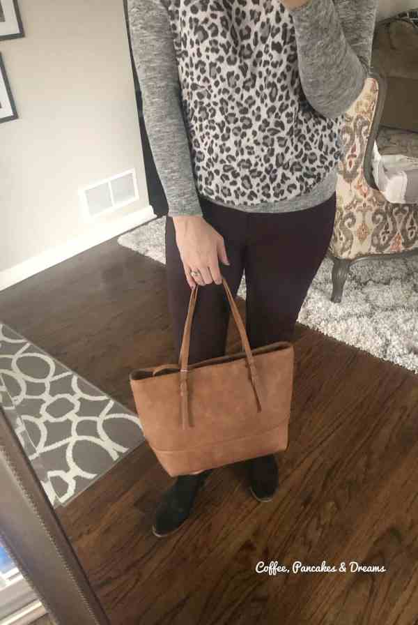 Stitch Fix Tote Bag Purse #winter #2020 #unboxing