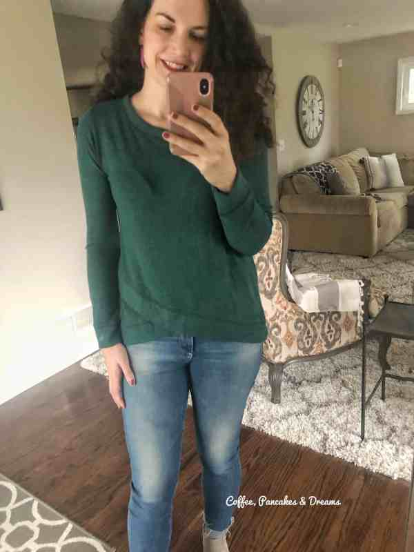 Stitch Fix Winter Review 2020 #outfits #unboxing #momstyle