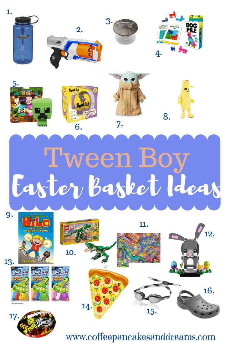 Easter Basket Ideas for Tween Boy