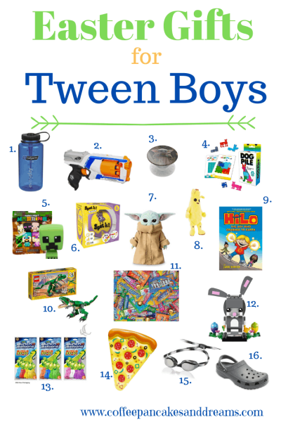 Easter Gifts for Tween Boys #teens #boy #cheap