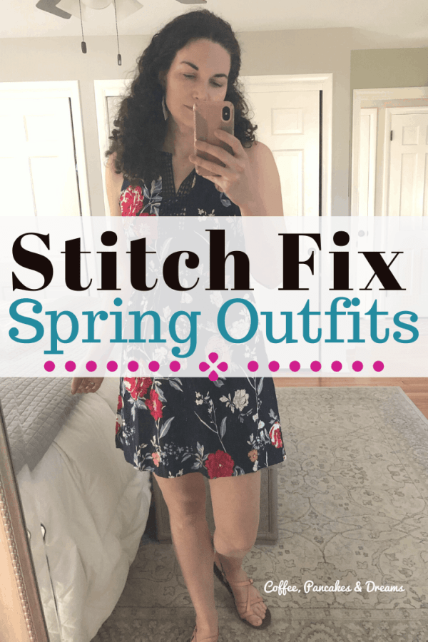April Stitch Fix Box #outfits #spring #dress #floral
