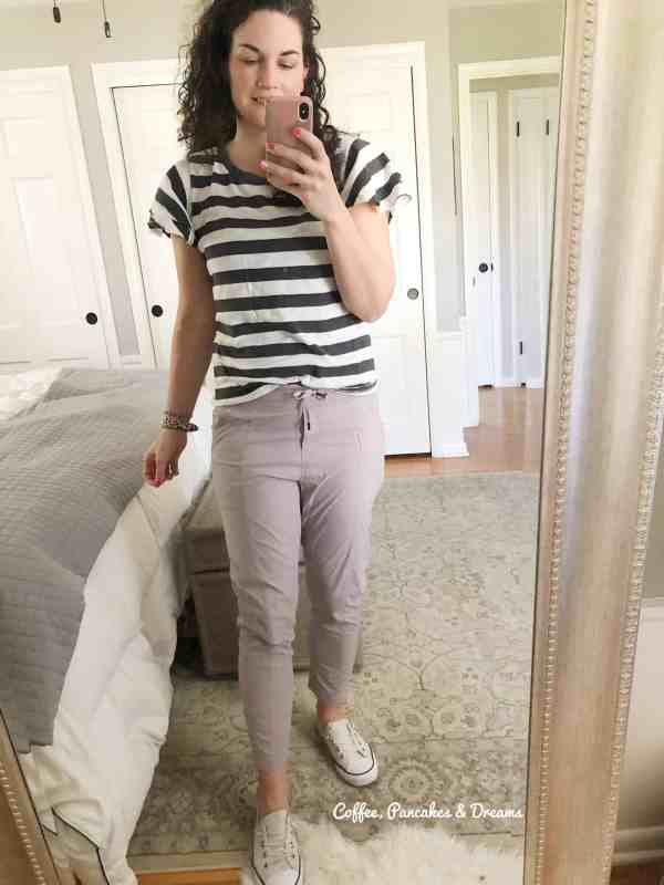 spring athleisure pants #athleta #lululemon