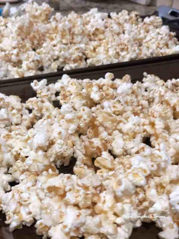 disney caramel popcorn recipe
