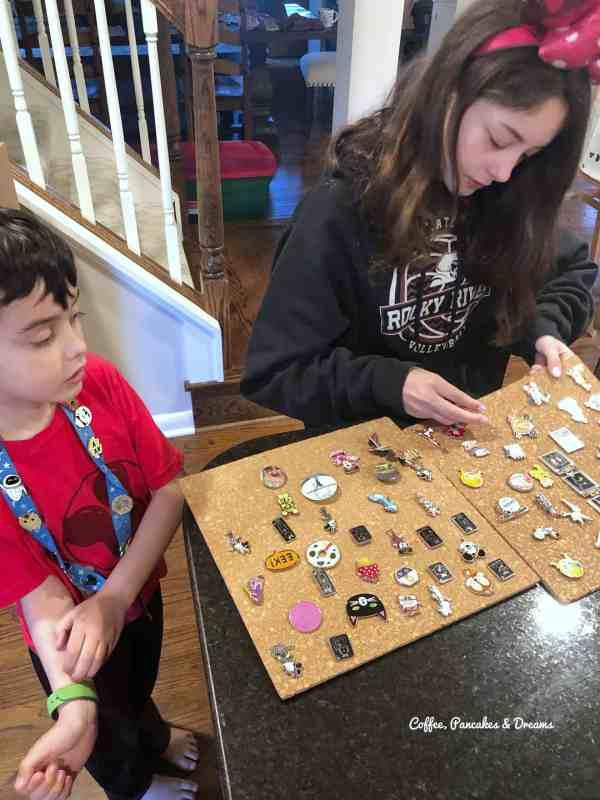 Disney trading pins ideas