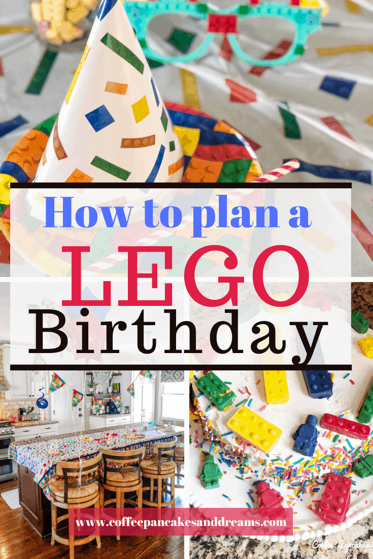 Lego Birthday Party Ideas #gifts #partyplanning #birthday #legofan