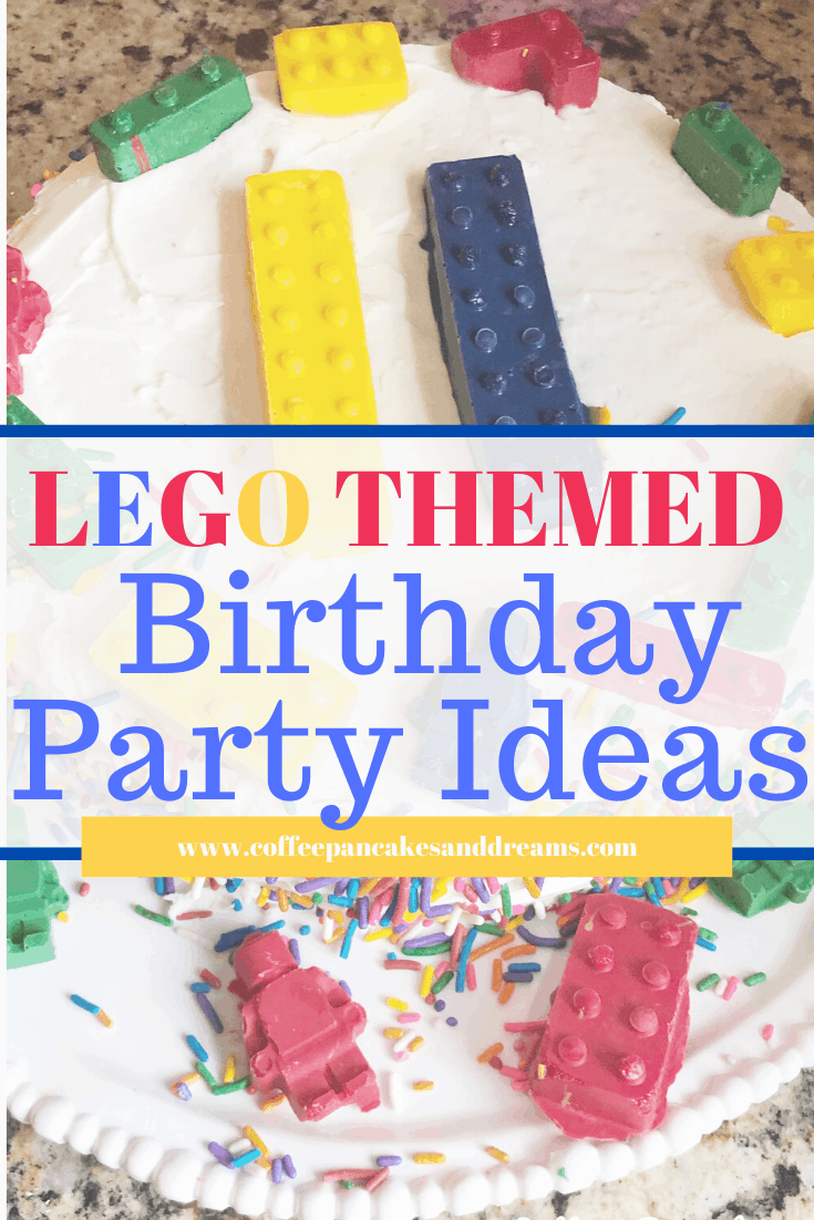SImple Lego Birthday Ideas #legos #minifigures #boys #tween