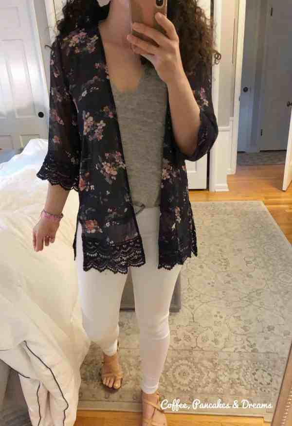 Stitch Fix May 2020 Box Floral Kimono
