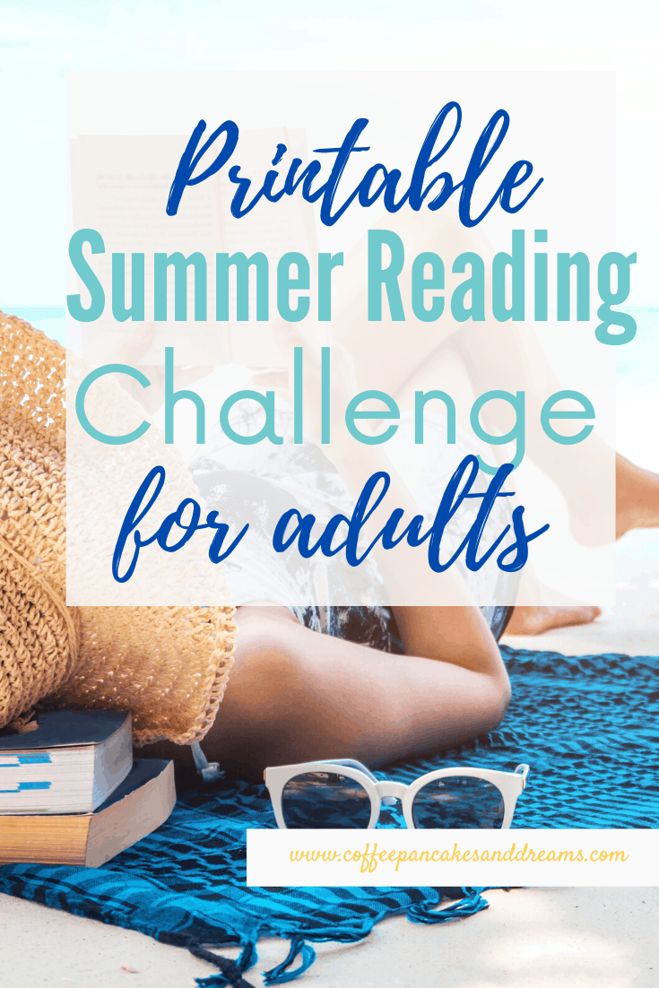 Summer Reading Challenge with printable Book Bingo Game #beachreads #summerreading #booklist2020 #bookrecommendations