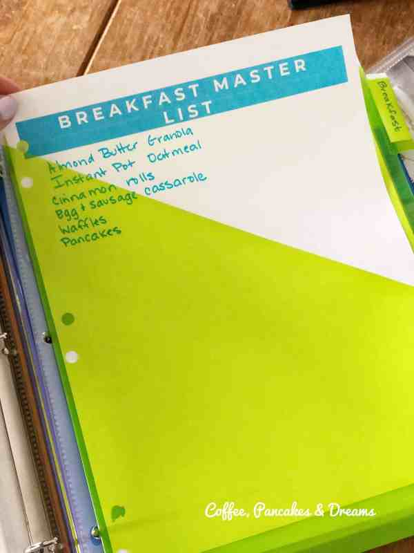 how to make a recipe binder #tutorial #printable #template #recipe organization