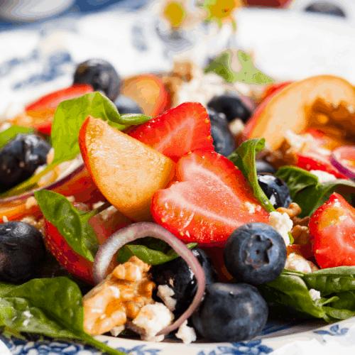 10 Refreshing Summer Salads #picnics #bbqs #fruit