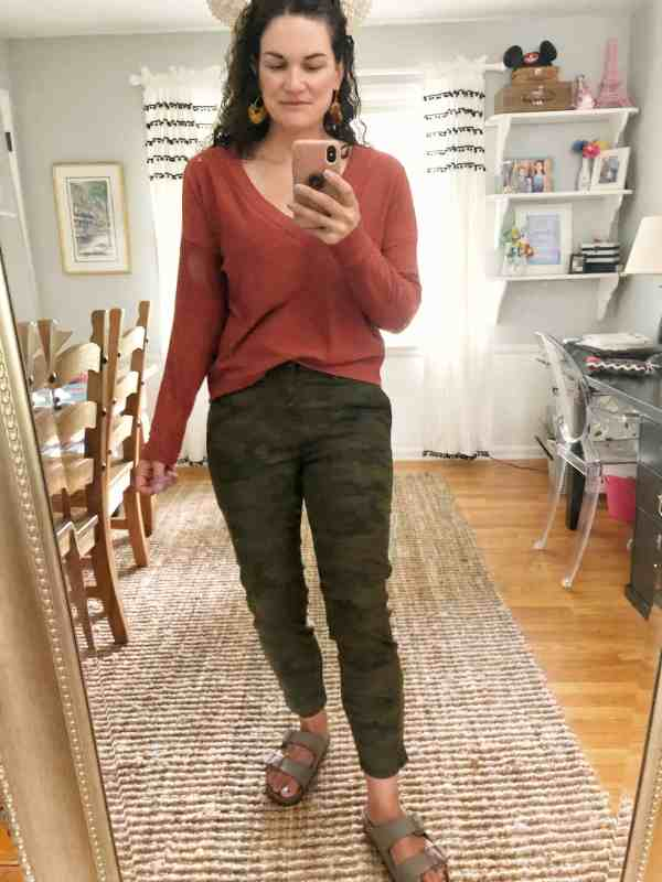 Fall Trendsend Evereve Review #tops #pants #camo