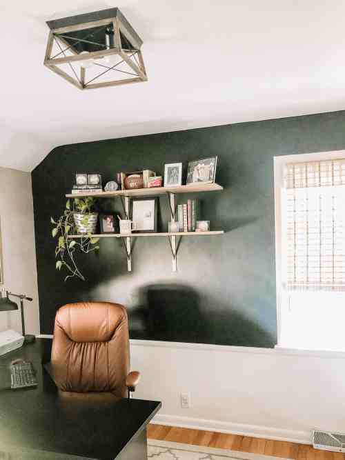 Home Office Makeover for Him