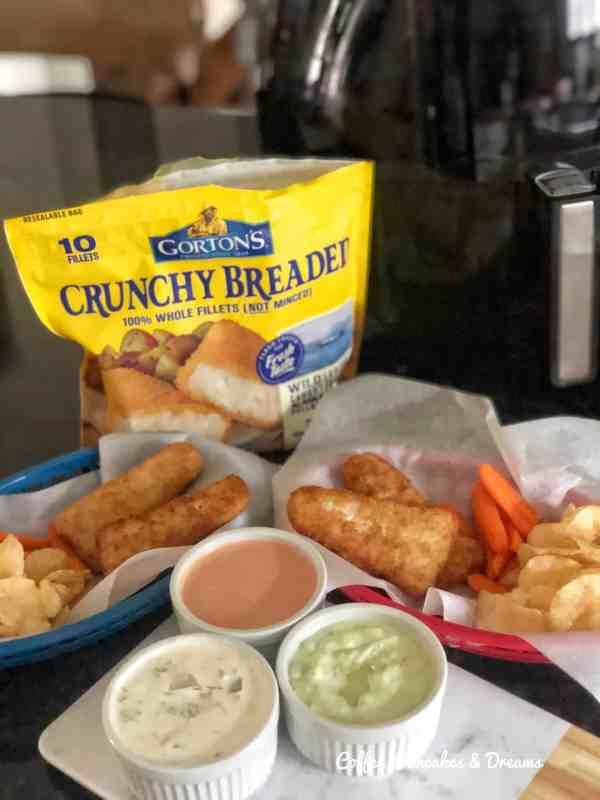 Gorton's Breaded Fish Fillets #recipe #tartersauce #frozenfish