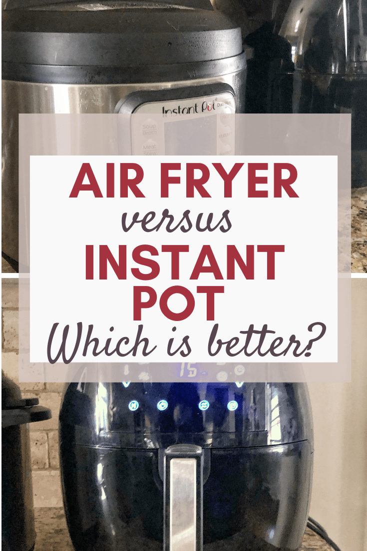 Instant Pot versus Air Fryer Comparison #proscons #mealplanning #holidaygift #blackfridayshopping