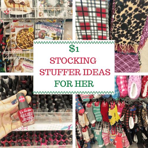 $1 Stocking Stuffer Gifts for Her #moms #teengirls #girls