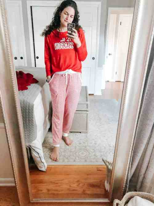 Tis the Season Women's Christmas PJ set