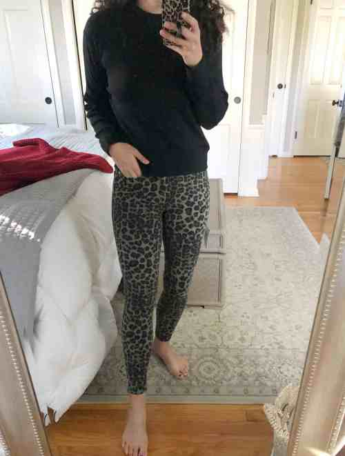 Leopard Print Pants Winter 2021 Evereve