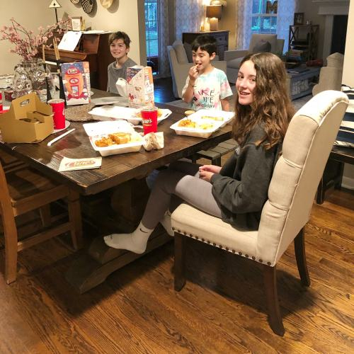 Raising Cane's Family Dinner Combo Pack #giveaway #ad #cleveland