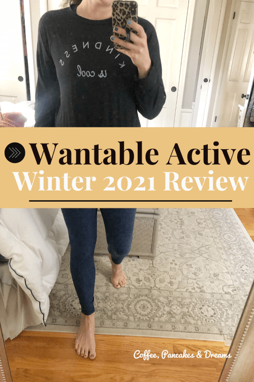 Wantable Active Edit Review #subscription #winter2021 #athlesiure