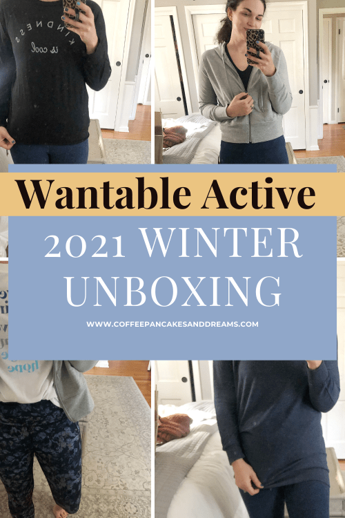 Wantable Active Fitness Edit Review Winter 2021 #workoutwear #mom #casualoutfits