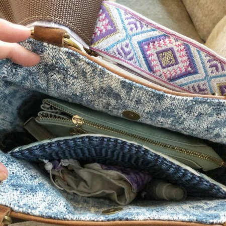Custom made leather purse by Remnants Bag Company