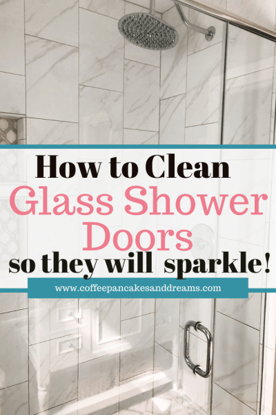 How to Clean Glass Shower Doors with Vinegar and Dish Soap